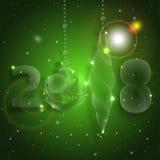 Christmas ball ornament. New years eve celebration. stock illustration