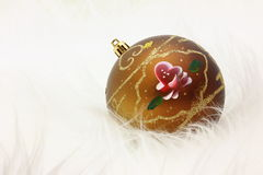 Christmas Ball Ornament - Stock Photo Stock Image