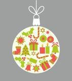 Christmas ball ornament stock illustration