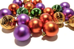 Christmas Ball Ornaments Royalty Free Stock Photos
