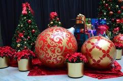 Christmas Ball Ornaments Stock Image