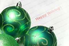 Christmas ball, ornaments Royalty Free Stock Images