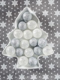 Christmas ball ornaments Stock Image