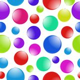 Christmas ball pattern Stock Photos
