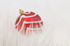Christmas Ball Red - Stock Photo Royalty Free Stock Photos