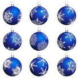 Christmas ball set Royalty Free Stock Photo