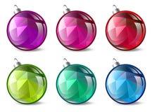 Christmas Ball Set Royalty Free Stock Image
