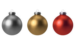Christmas ball set Stock Photography