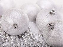 Christmas ball in snow. Stock Image