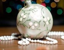 Christmas ball tree ornament Stock Images