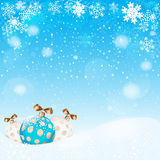 Christmas ball.  Vector EPS 10. Stock Photos
