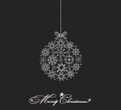 Christmas ball vector Royalty Free Stock Photo
