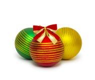 Christmas ball  on white background cutout Stock Image