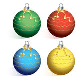 Christmas ball on white background cutout vector. Stock Photo
