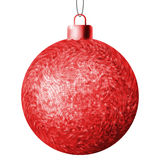 Christmas ball on a white background. EPS 8 Royalty Free Stock Photo