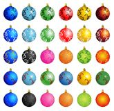 Christmas Ball Winter Vector. Background Royalty Free Stock Photography