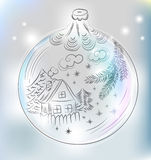 Christmas ball for xmas design Stock Photo