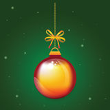 Christmas Ball xmas and happy new year Royalty Free Stock Image