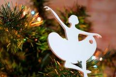 Christmas Ballerina, closeup Stock Photography