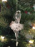 Christmas Ballerina Royalty Free Stock Images
