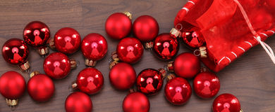 Christmas-Ballls Royalty Free Stock Images