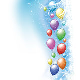 Christmas balloons Royalty Free Stock Photography