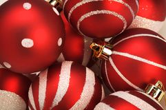Christmas balls Stock Photos