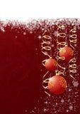Christmas balls. Abstract Christmas background with Christmas balls, illustration Stock Photos
