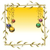Christmas balls. Accessories for a beautiful Christmas tree Royalty Free Stock Photography