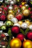 Christmas balls. Any nice colored and luminous christmas balls Royalty Free Stock Photography