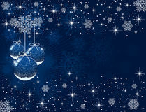 Christmas balls. Abstract background with Christmas balls, illustration Royalty Free Stock Photography