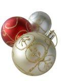 Christmas Balls. On White Background Stock Photos