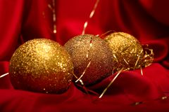 Christmas balls Stock Photography