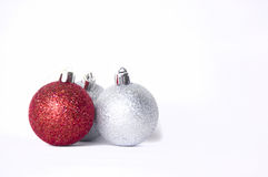 Christmas balls. Christmas ball isolated on a white background Royalty Free Stock Image