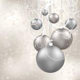 Christmas balls Stock Photos