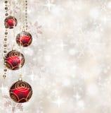 Christmas balls Stock Image