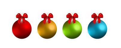 Christmas balls. And ornaments, crristmas bauble Royalty Free Stock Photo
