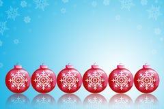 Christmas balls. To make greeting cards Royalty Free Stock Photo
