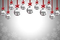 Christmas balls. To make greeting cards Stock Photo