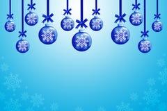 Christmas balls. To make greeting cards Royalty Free Stock Photography