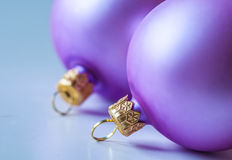 Christmas balls Stock Photo