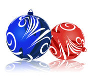 Christmas balls. Royalty Free Stock Images