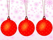 Christmas balls. A Season of christmas balls Vector Illustration