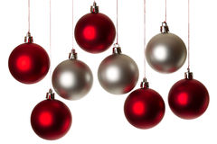Christmas_balls5 Stockbild