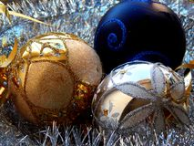 Free Christmas Balls Royalty Free Stock Photography - 46558677