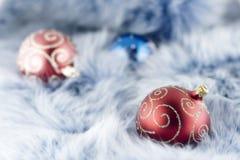 Christmas balls Stock Images