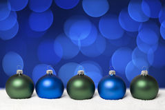 Christmas balls. Stock Image