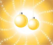 Christmas balls. Vector illustration of Christmas balls for the festive season Royalty Free Stock Photos