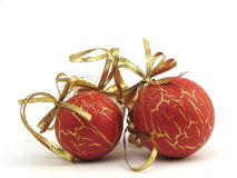 Christmas Balls. On White Background Royalty Free Stock Images