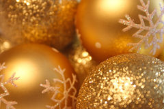 Christmas balls background Royalty Free Stock Image